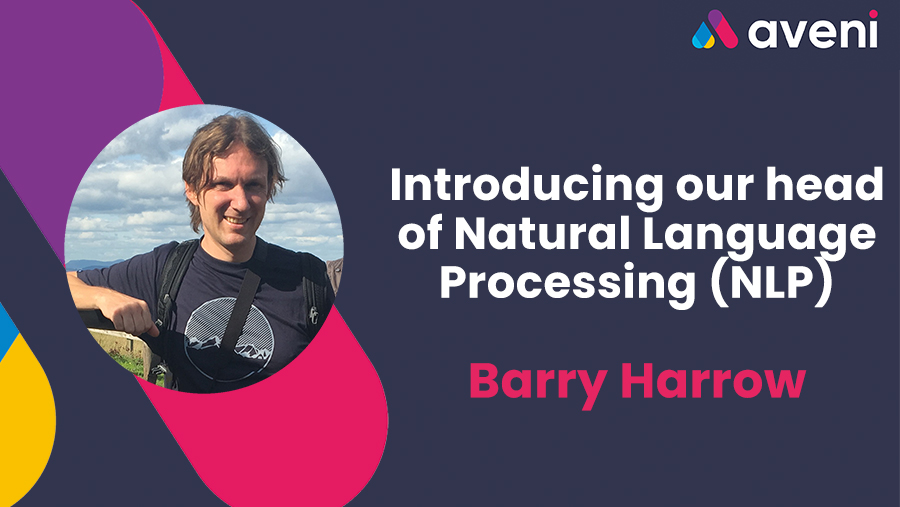 Introducing our head of NLP Barry Harrow
