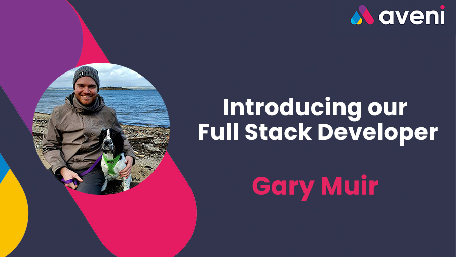 Introducing Gary, our Full Stack Developer