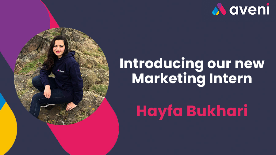 Introducing our new Marketing intern, Hayfa Bukhari