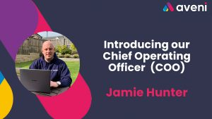 Introducing Jamie Hunter, COO